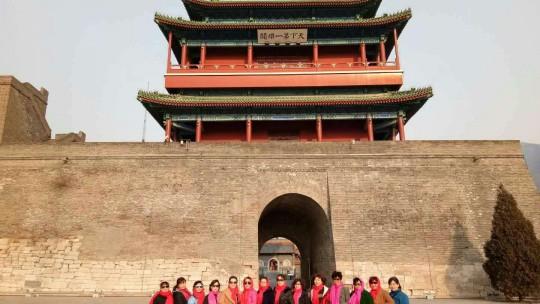 """安阳小树林快乐健身队庆""""三八""""妇女节到北京等地参观学习"""