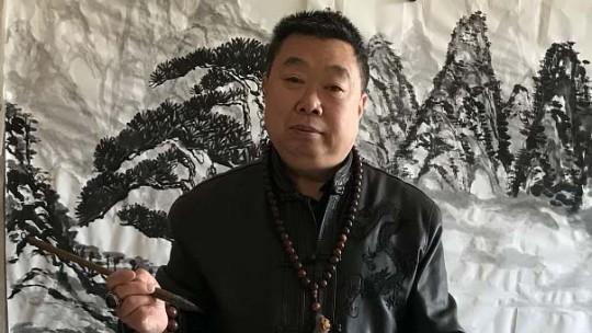 中国当代实力派书画名家聂志华作品欣赏