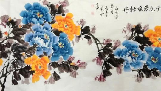 中国当代实力派书画名家乔玉英书画艺术欣赏