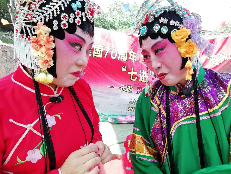 优秀传统戏曲走进磁县北贾璧乡柳树池村