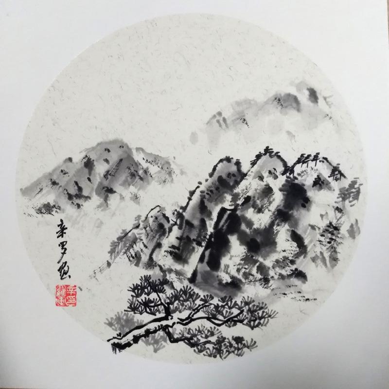 中国当代实力派书画名家辛罗书画艺术欣赏