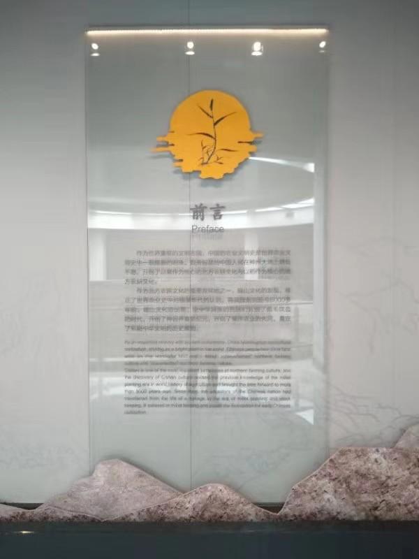 """磁山文化博物馆""""粟""""流从源"""
